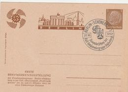 Allemagne Entier Postal Illustré Berlin 1940 - Postwaardestukken