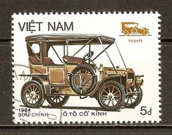 1984 - Automobiles - Type Topédo - N°518 - Viêt-Nam