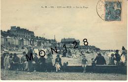 LUC SUR MER (14) SUR LA PLAGE - Luc Sur Mer