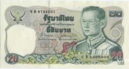 Thailand 20 Baht (P88) Sign 62 -UNC- - Thaïlande