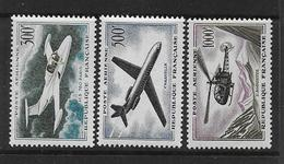FRANCE - PA  Série 35 à 37 ** - Cote : 110 € - Airmail