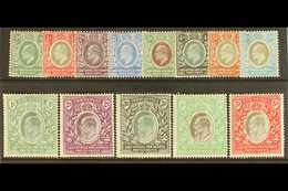 1903 Ed VII Set Complete To 5r , Wmk CA/CC, SG 1/13, Fine To Very Fine Mint. (13 Stamps) For More Images, Please Visit H - Publishers