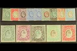 1904 - 7 Ed VII Set To 5r Complete, Wmk MCA, SG 17/30, Very Fine Mint. (13 Stamps) For More Images, Please Visit Http:// - Publishers