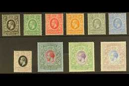 1921 Geo V Set To 5r Complete, Wmk Script, SG 65/74 , Very Fine Mint. (10 Stamps) For More Images, Please Visit Http://w - Publishers