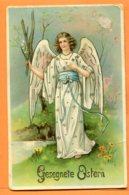 VAL087, Ange, Belle Fantaisie, Joyeuse Pâques, M.S.I.B. 15243, Circulée 1917 - Angels
