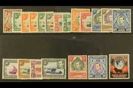 1938-54 Complete Definitive Set, SG 131/150b, Fine Mint, Includes Several Of The Better Perf E.g. 5s And 10s. (20 Stamps - Publishers