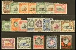 1938-54 Pictorial Definitive Set, SG 131/50b, Never Hinged Mint (20 Stamps) For More Images, Please Visit Http://www.san - Publishers