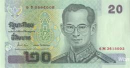 Thailand 20 Baht (P109) Sign 84 -UNC- - Thaïlande