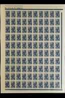 "GERMAN OCCUPATION 1941 30k Green & 30k Blue ""LATVIJA"" Overprints (Michel 4/5, SG 4/5), Superb Never Hinged Mint Complete - Lettonie"