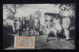 MADAGASCAR / DIEGO SUAREZ - Affranchissement De Diego Suarez Sur Carte Postale En 1915 -  L 20966 - Madagascar (1889-1960)