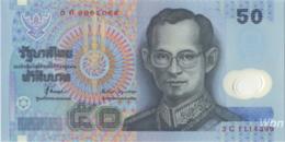 Thailand 50 Baht (P102) Sign 71 -UNC- - Thaïlande