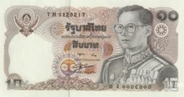 Thailand 10 Baht (P87) Sign 56 -UNC- - Thaïlande