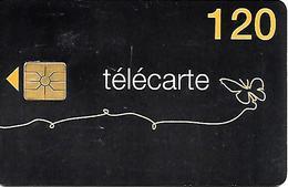 CARTE°-PUBLIC-120U-F1366A-GEM1-03/09-PAPILLON 1-Val 31/12/2010-V° Sans Code Barres-UTILISE-BE- - France