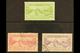 1925 Dunedin Exhibition Set, SG 463/65, Fine Cds Used (3 Stamps) For More Images, Please Visit Http://www.sandafayre.com - Nouvelle-Zélande