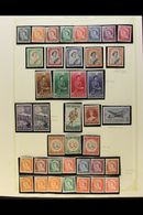 1953-83 FINE MINT COLLECTION A Clean Collection On Album Pages Which Includes 1953-59 Complete Definitive Set, 1955-59 D - Nouvelle-Zélande