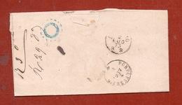 RIO NELL'ELBA 14/10/73 + Punti Su 20c. LETTERA COMPLETA DI TESTO PER LIVORNO - Storia Postale