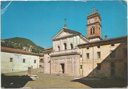 V3778 Collepardo (Frosinone) - Antica Badia Di Trisulti - Piazzale Della Chiesa / Non Viaggiata - Altre Città