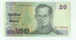 Thailand 20 Baht (P109) Sign 74 -UNC- - Thaïlande