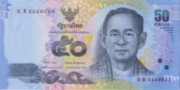Thailand 50 Baht (P119) Sign 84 -UNC- - Thaïlande