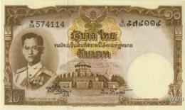 Thailand 10 Baht (P76d) Sign 41 -UNC- - Thaïlande