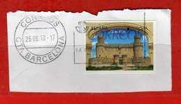 (1Us) ) SPAGNA - Spain °- 2017 -  Europa Castillo De Manzanares El Real.  Vedi Descrizione. - 2011-... Usati
