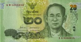 Thailand 20 Baht (P118) -UNC- - Thaïlande