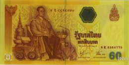 Thailand 60 Baht (P116) -UNC- - Thaïlande