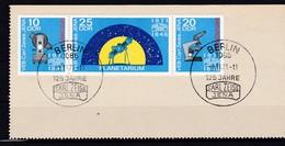 DDR, Nr. 1714/16 ZD SST Auf Briefstück (K 3942) - DDR