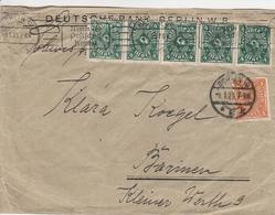 Allemagne Lettre Inflation Berlin 1923 - Germany