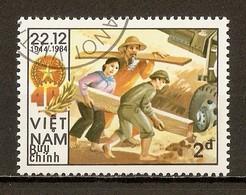 1984 - 40è Anniversaire Fondation Armée Populaire Vietnamienne N°550D - Viêt-Nam