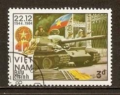 1984 - 40è Anniversaire Fondation Armée Populaire Vietnamienne N°550E - Viêt-Nam