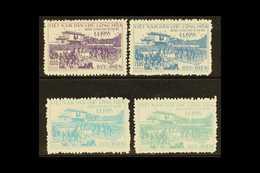 1956 Return Of Government To Hanoi Complete Set (SG N42/45, Scott 28/31), Fine Unhinged Unused No Gum As Issued, Fresh & - Viêt-Nam
