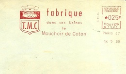 EMA FRANCE MOUCHOIR COTON Taschentuch COTTON BAUMWOLLE KATOEN COTONE ALGODÓN Tmc T.M.C. Pañuelo Fazzoletto ZAKDOEK TISSU - Textile