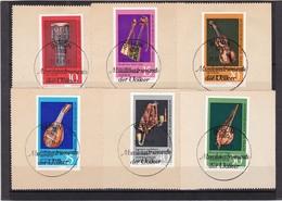 DDR, Nr. 1708/13 SST Auf Briefstück (K 3943b) - DDR