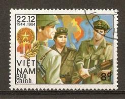 1984 - 40è Anniversaire Fondation Armée Populaire Vietnamienne N°550G - Viêt-Nam