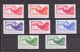 SAINT PIERRE ET MIQUELON YT 472/480/490/473/502/481/491/503 ** Série Poissons** - St.Pierre & Miquelon