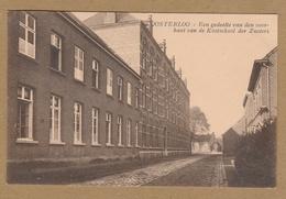 Oosterlo ( Geel )  OOSTERLOO   Een Gedeelte Van Den Voorkant Van De Kostschool Der Zusters +Yv 198 Sterstempel - Geel