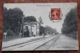 CHATENAY SUR  SEINE (10) - LA GARE - Other Municipalities