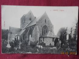 CPA - Genêts - L'Eglise - France
