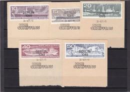 DDR, Nr. 1693/98 SST Auf Briefstück (K 3945) - Gebraucht