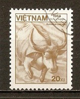 1984 - Faune - Buffle Domestique - N°553 - Viêt-Nam