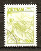 1984 - Faune - Poisson Combattant Siamois - N°555 - Viêt-Nam