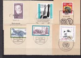 DDR, Nr. Lot Von Marken Aus 1971 Mit SST Auf Briefstück (K 3946) - Gebraucht