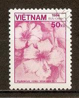 1984 - Flore - Hibiscus Rosa-sinensis - N°556 - Viêt-Nam