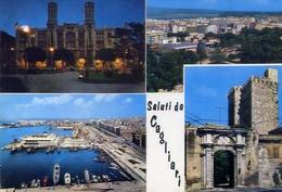 Saluti Da Cagliari - Formato Grande Viaggiata – E 10 - Cagliari