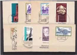 DDR, Nr. Lot Von Marken Aus 1971 Mit SST Auf Briefstück (K 3947) - DDR