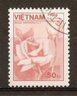 1984 - Flore - Rose (Rosa Centifolia) - N°557 - Viêt-Nam