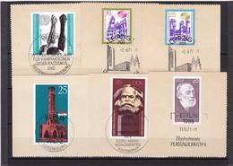 DDR, Nr. Lot Von Marken Aus 1971 Mit SST Auf Briefstück (K 3949) - DDR