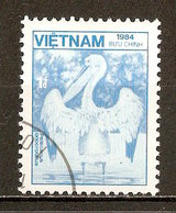 1984 - Faune - Grand Pélican Blanc - N°560 - Viêt-Nam
