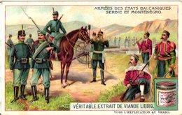 0983  Liebig 6 Cards- C1910 Armies In The Balkan States-Etats Baltaniques-Serbie-Montenegro-Bulgarie-Turquie-Roumanie - Liebig